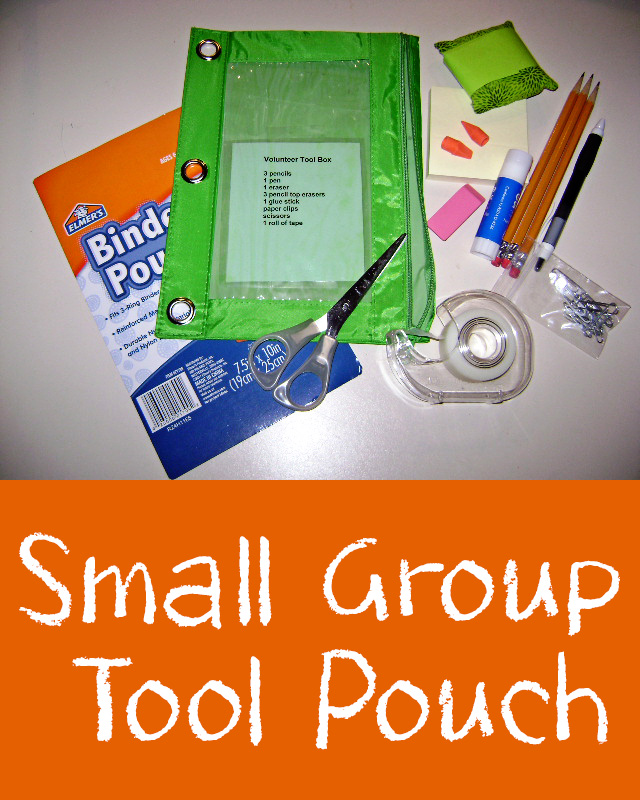 Small Group Tool Pouch